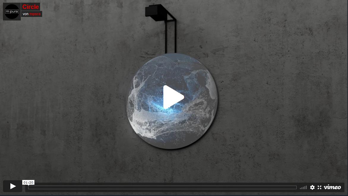 """Instalaltion """"Circle"""" bei Vimeo aufrufen"""